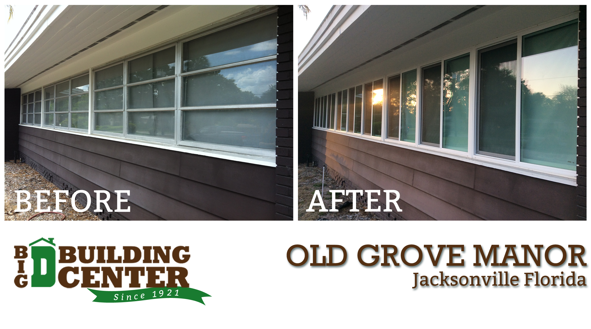 Project: Old Grove Manor Windows