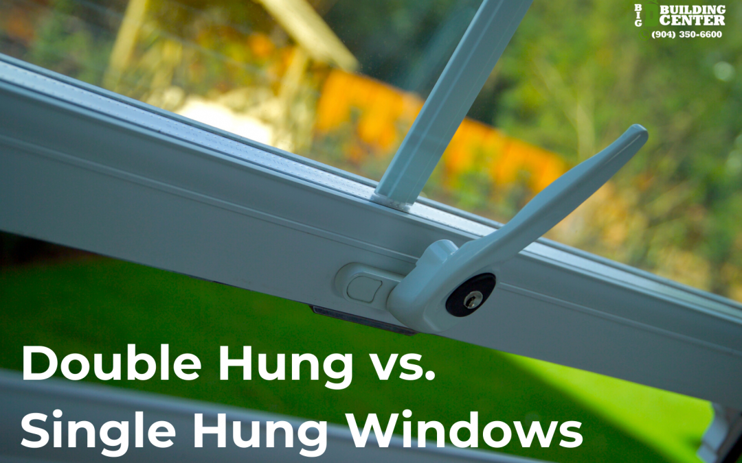 What's the Difference Between Double Hung and Single Hung Windows?